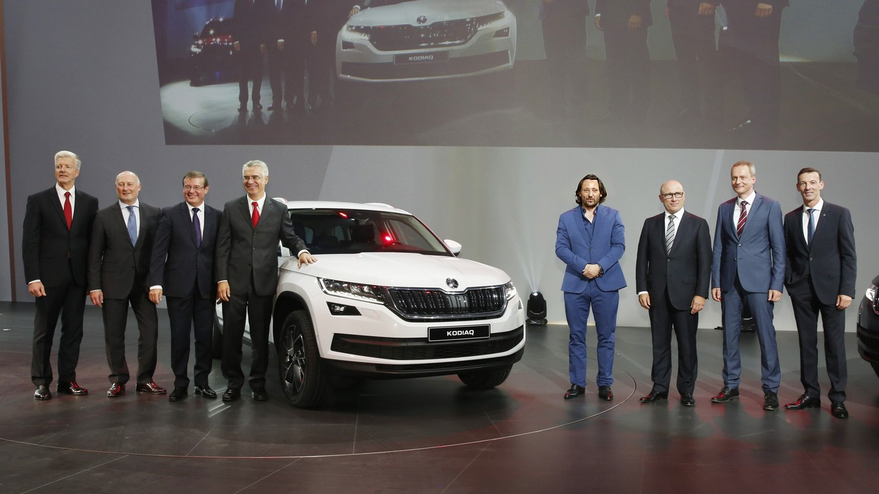 SKODA KODIAQ - WORLD STATIC PREMIERE, Berlin 1.9.2016