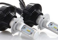 Установка светодиодных ламп H7 – способ повысить эффективность автомобильных фар